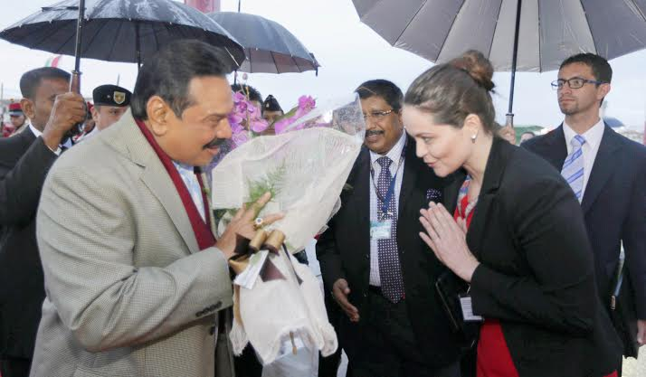 President Rajapaksa Arrives in Bolivia