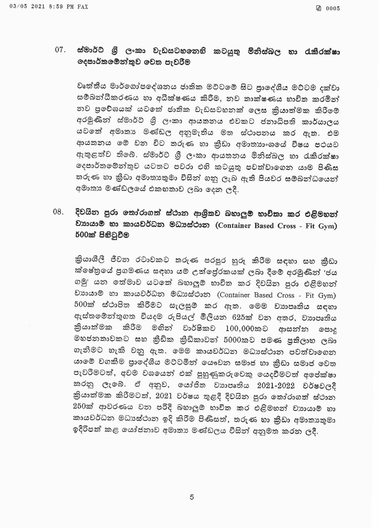 Cabinet Decision on 03.05.2021 page 005