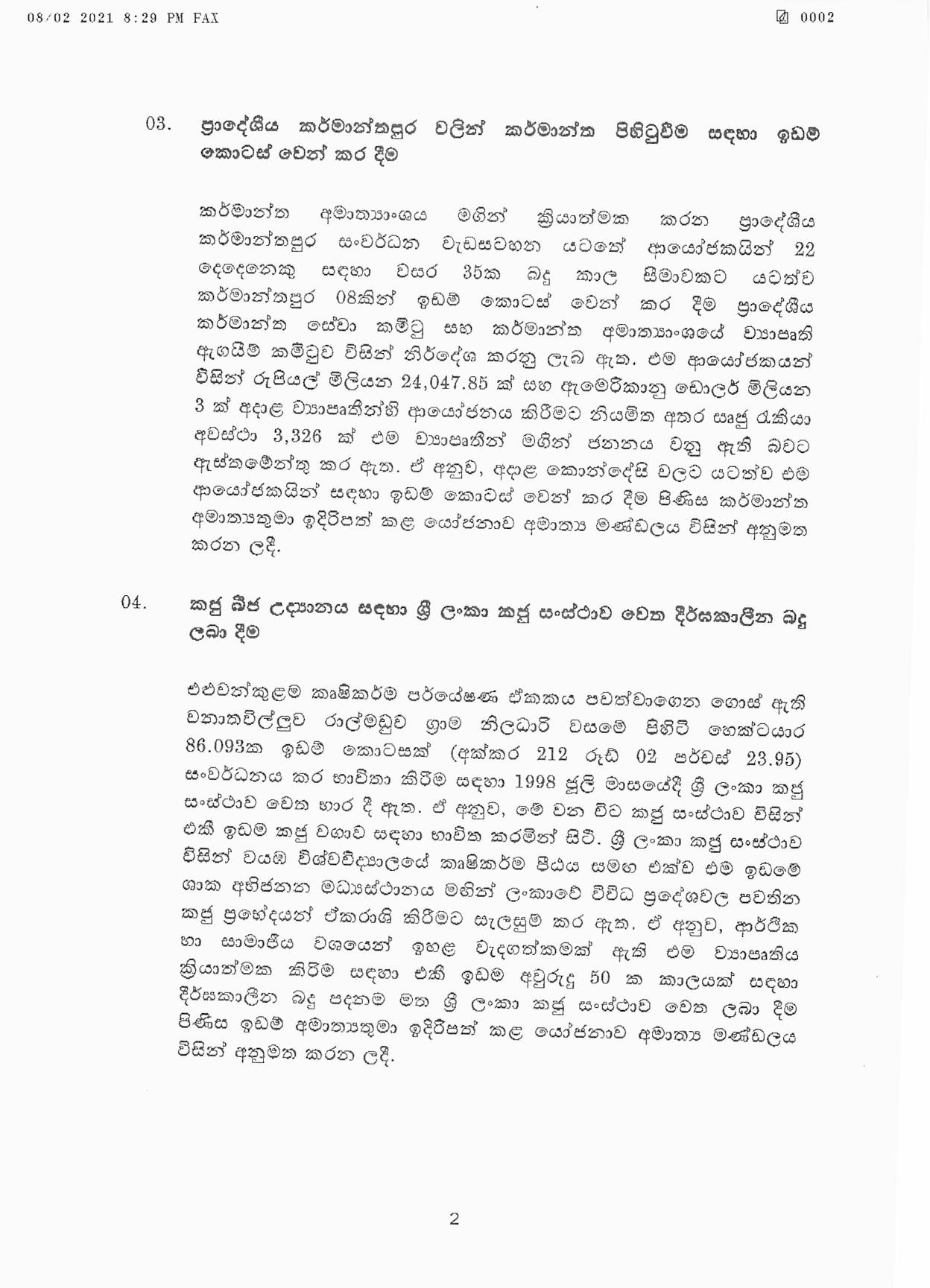 Cabinet Decision on 08.02.2021 page 002