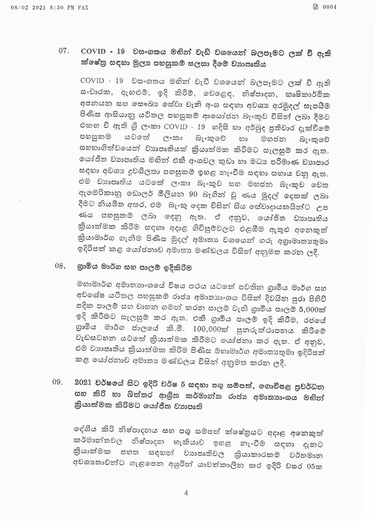 Cabinet Decision on 08.02.2021 page 004