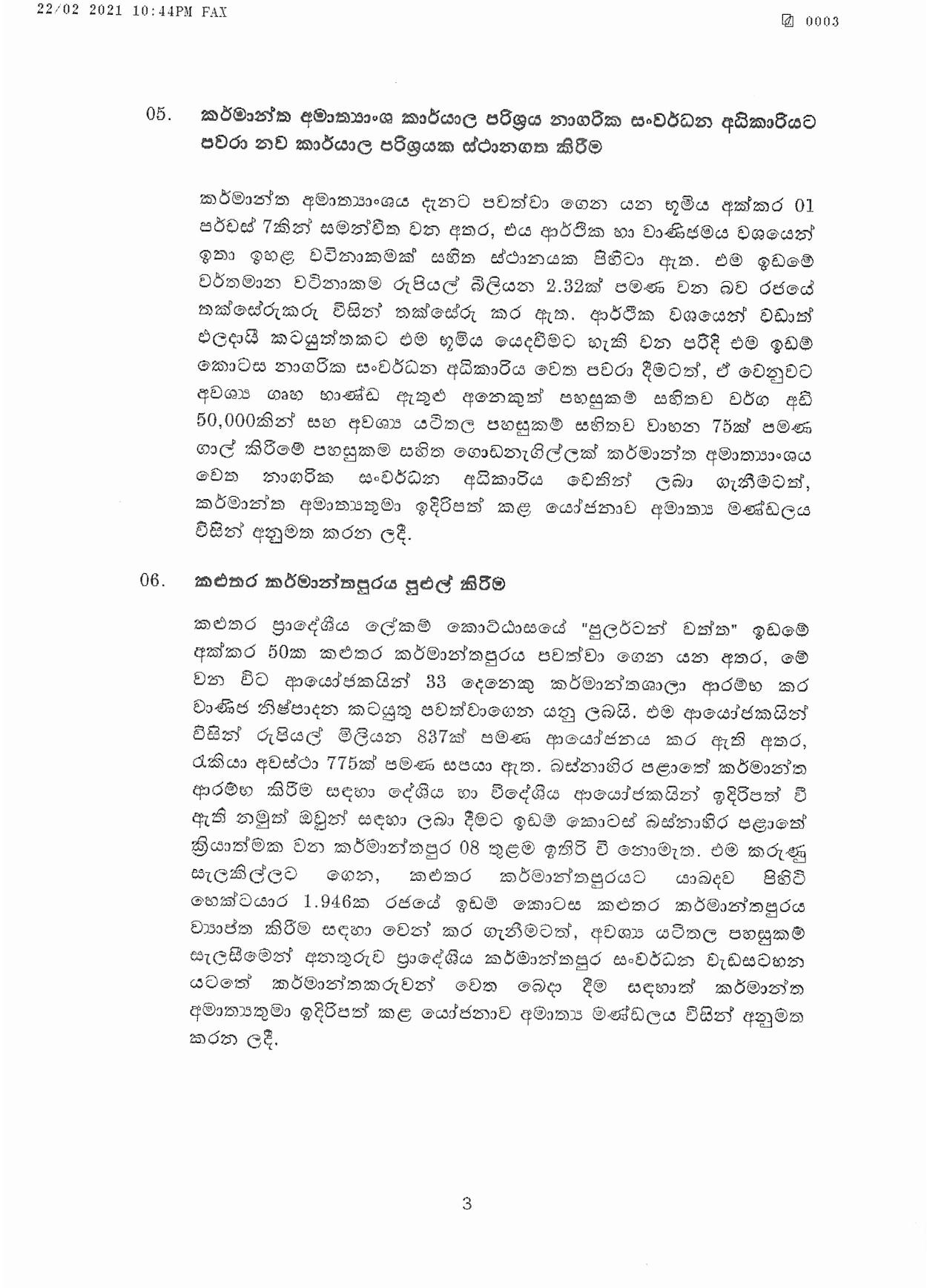 Cabinet Decision on 22.02.2021 page 003
