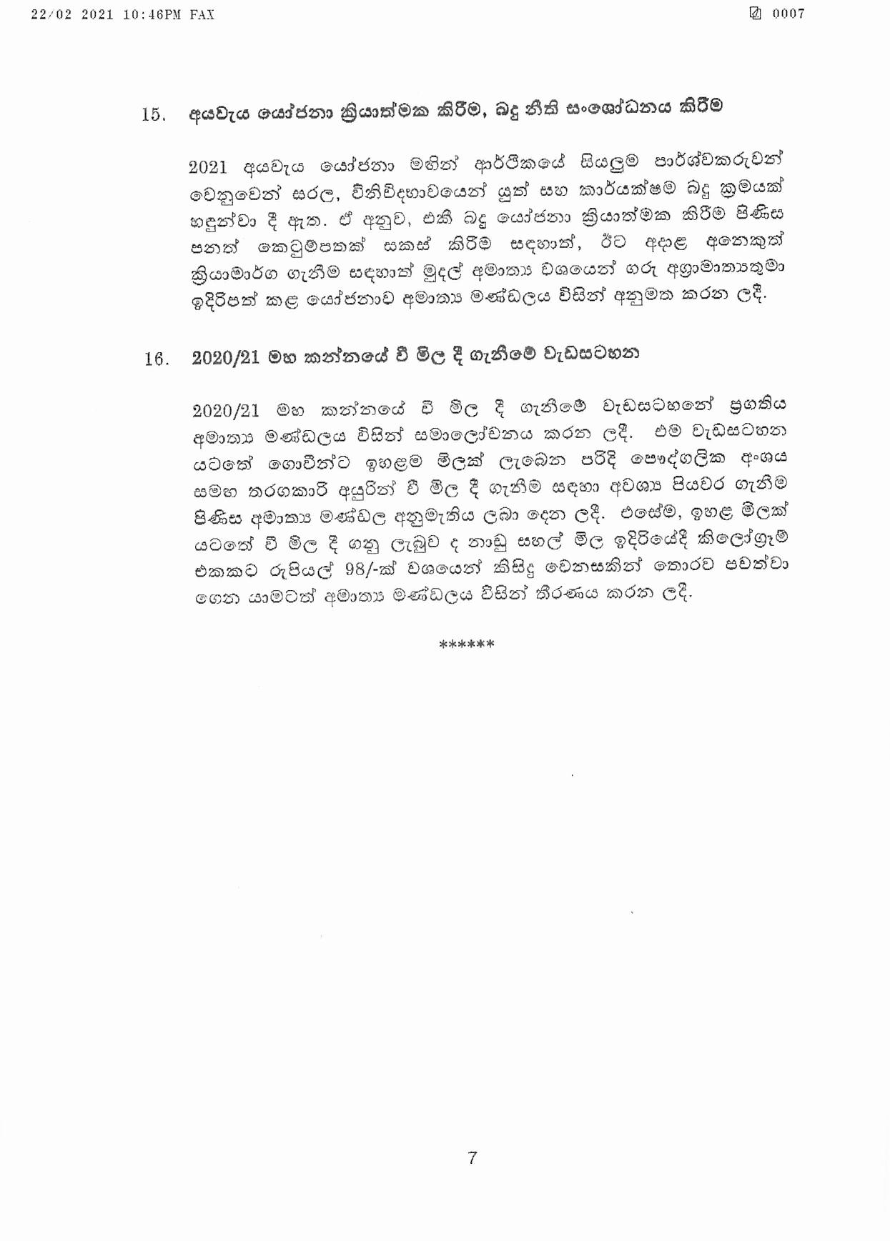 Cabinet Decision on 22.02.2021 page 007